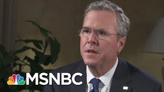 In 2016, Jeb Bush Got It Right About A Trade War | Morning Joe | MSNBC