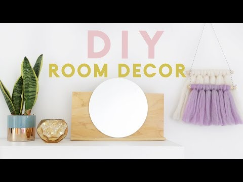 DIY Room Decor Ideas  for 2018 | Minimal, Modern and Easy to Make