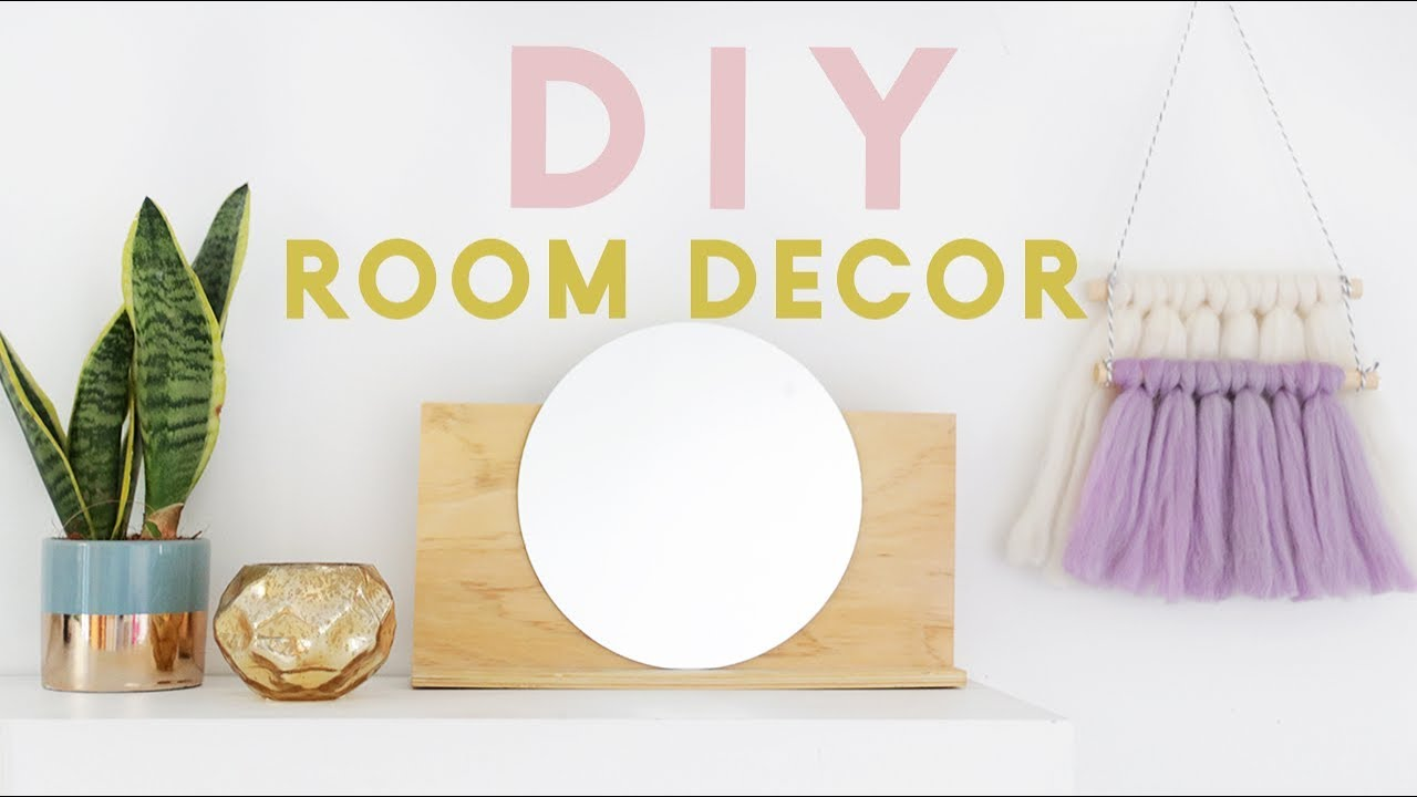 diy room decor ideas diy room decor ideas for 2018 minimal modern and easy 12140