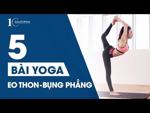 Yoga #10 - 5 tư thế Yoga giúp eo thon bụng phẳng