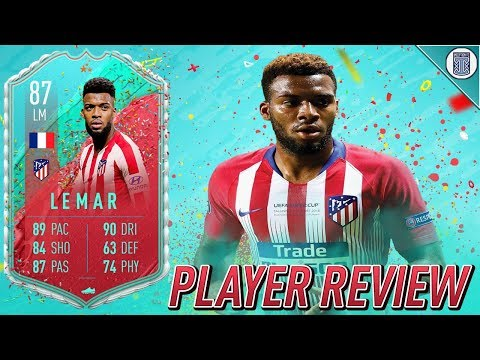 87 FUT BIRTHDAY LEMAR PLAYER REVIEW! - FIFA 20 ULTIMATE TEAM