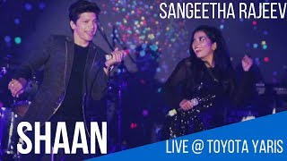 Sangeetha Rajeev Live | Shaan Live | Toyota Yaris | Kannada Hindi Songs | Aftermovie