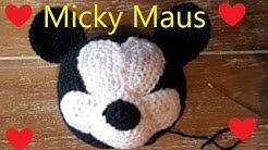 Micky Maus Kopf Ball häkeln Anleitung Teil 1 Kopf