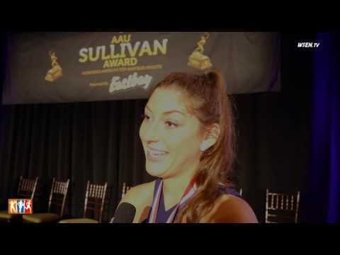 A chat with Lauren Carlini winner of the AAU Sullivan Award
