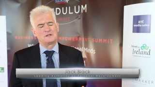 Jack Black at the Laya Healthcare Pendulum Summit 2014