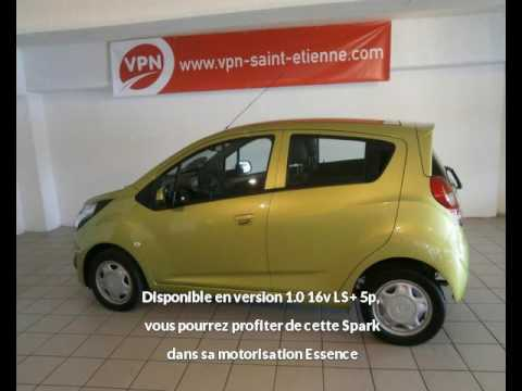 chevrolet spark 1 0 16v ls 5p vendre saint etienne chez vpn autos youtube. Black Bedroom Furniture Sets. Home Design Ideas