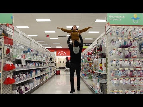 WE TRIED GETTING KICKED OUT OF TARGET!!