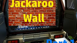 Jackaroo Wall Build Part 1 - Decimal Audio 15