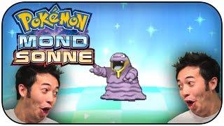 SHINY ALOLA SLEIMA /ALOLAN GRIMER AFTER 231 EGGS REACTION - Pokémon Sonne & Mond