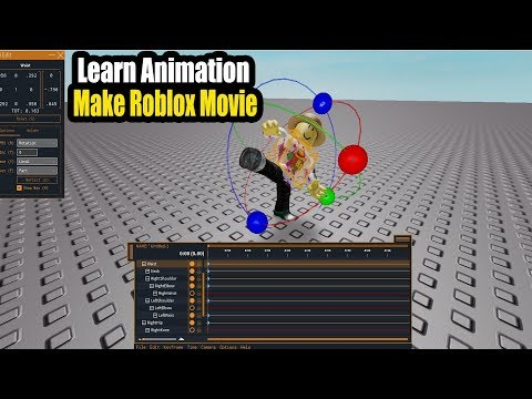 How To Animate And Make Roblox Movies – Roblox Animation Tutorial Part1