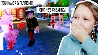 My Boyfriend Kissed Another Girl On Christmas Eve.. Royale High Update