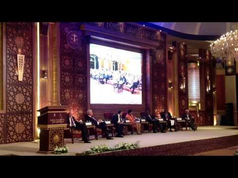 Qatar Law Forum 2012: Anti-corruption session delegates ans