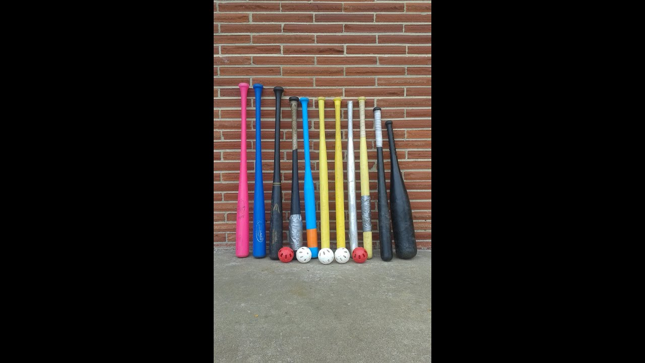 wiffle ball bat ball review video youtube