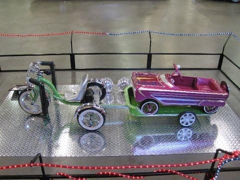 Lowrider Pedal Car Custom Trike/Trailer