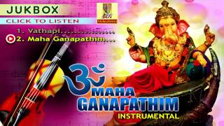 Hindu Devotional Songs | Om Maha Ganapathim | Violin Instrumental Jukebox