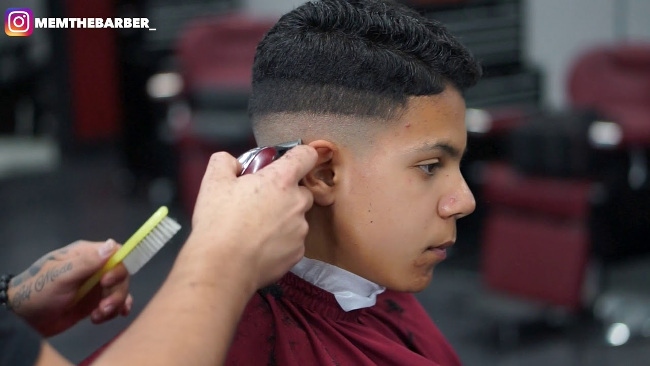Haircut Tutorial Midfade No Line Up Youtube