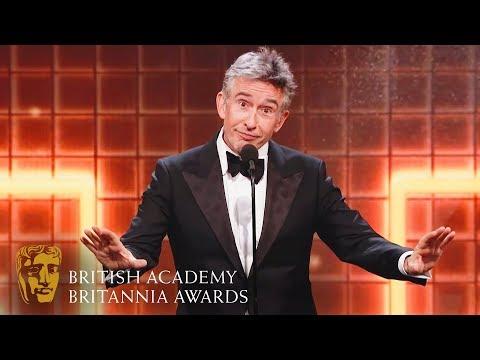 Steve Coogan's Hilarious Acceptance Speech | 2019 British Academy Britannia Awards