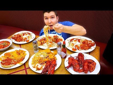 Incredible Las Vegas Buffet • All You Can Eat • MUKBANG