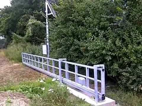 Cantilever Gates Solar Powered Farm Security Gate From