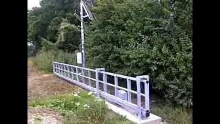 Cantilever Gates: Solar Powered Farm Security Gate From Green Gate Access Systems