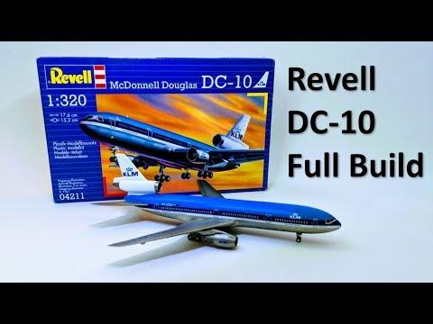 McDonnell Douglas DC-10 - Revell 1/320 Full Build