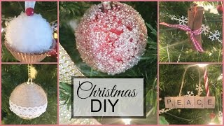 How to: Christmas baubles DIY | DramaticMAC