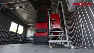 Твердотопливный котёл Eurotherm (''Евротерм'') 100 кВт. Котлы с КПД более 90%
