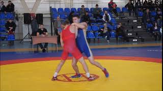 Спортсмены из Комсомольска стали победителями Всероссийского турнира по греко-римской борьбе