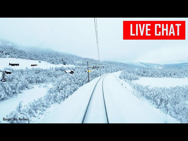 CABVIEW: Live chat and Stream from the Bergen Line in Norway
