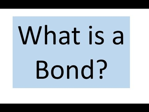 What is a financial Bond?