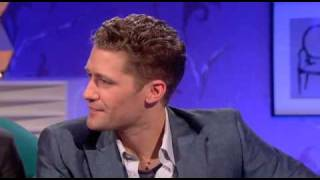 Matthew Morrison, Kevin McHale, and Jenna Ushkowitz on Alan Carr: Chatty Man