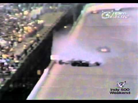 Rick Muther/David Hobbs Crash, Indianapolis 500 1971