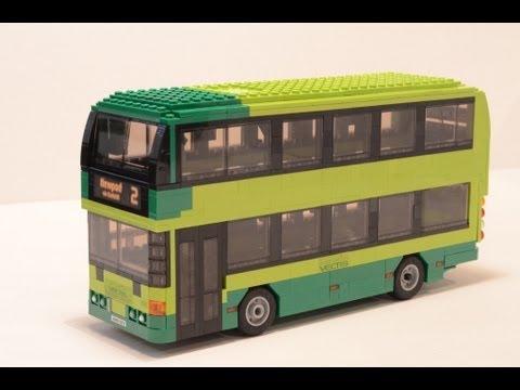 Lego Bus 19 Southern Vectis Bus Scania Omnicity 1151 Hw09 Bcv