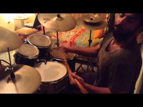 Jazz fusion drumming
