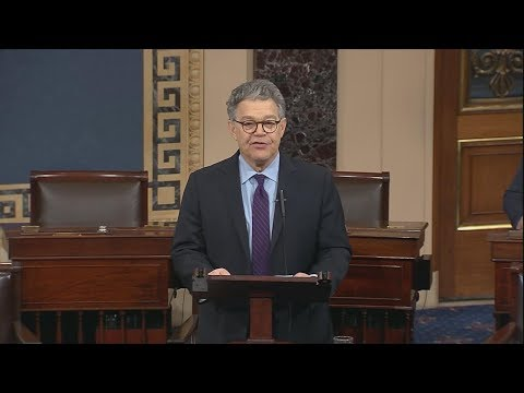 Senator Al Franken resignation speech (full speech)  | ABC News Special Report