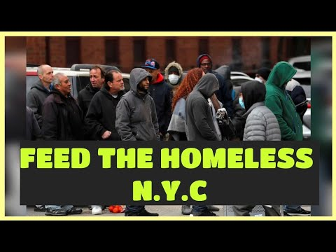 Feeding the Homeless | NYC Lockdown | Act of Goodwill | Best Charity Program In New York