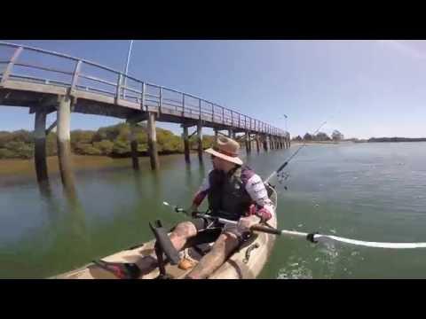 KAYAK FISHING THE ISLAND   Garden Island - South Australia