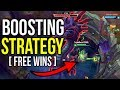 NEW DUO BOOSTING STRATEGY (NOT KAYLE/YI) [POTENTIAL 10 MIN INHIB, 20 MIN BARON] - League of Legends