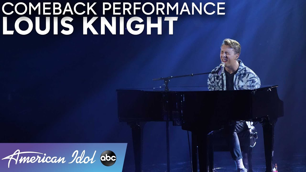 Amazing! Louis Knight Sings Original Song For Comeback! - American Idol 2021