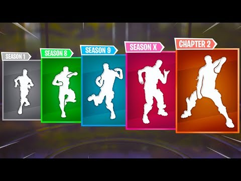 Top 5 Best Fortnite Dances Of Every Season | Chapter 1-2