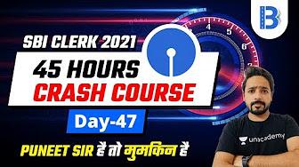 8 00 Pm Sbi Clerk 2021 Reasoning By Puneet Sharma Youtube