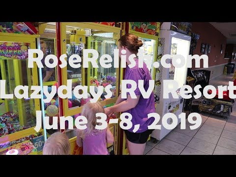 Lazdays RV Resort: Rain, Cleaning Black Tank, Frogs - RoseRelish.com