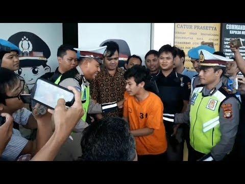 Ade Saputra Pemuda Viral Perusak Motor, Nangis Minta Maaf Kepada Masyarakat dan Kepolisian