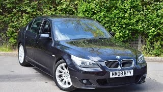 Wessex Garages  Used Bmw 5 Series 525d M Sport At Pennywell Road, Bristol  Mm08kfv
