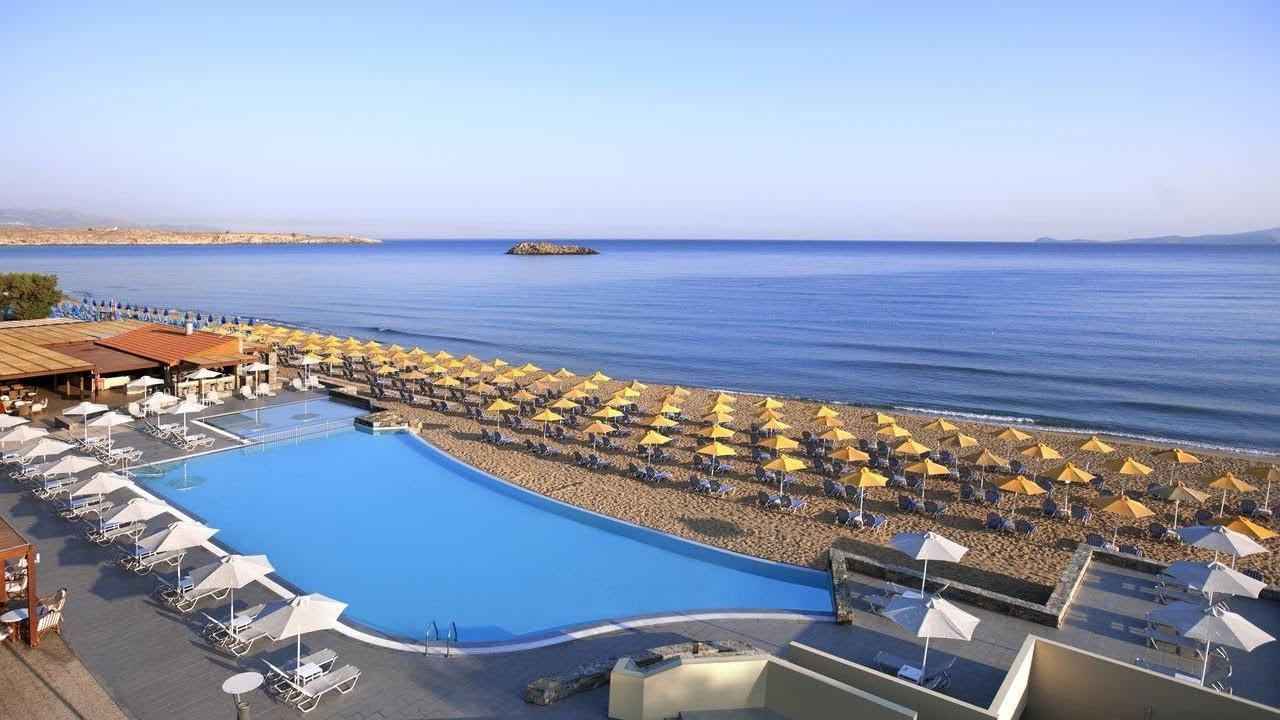 Top 10 4-Star Beachfront Hotels & Resorts in Crete, Greece, Mediterranean