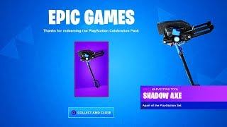 the New FREE PICKAXE in Fortnite (NEW)