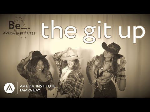 beauty-school-git-up-challenge-🤠-//-aveda-institute-tampa-bay