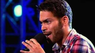 The X Factor 2009 - Danyl Johnson - Bootcamp 2 (itv.com/xfactor)