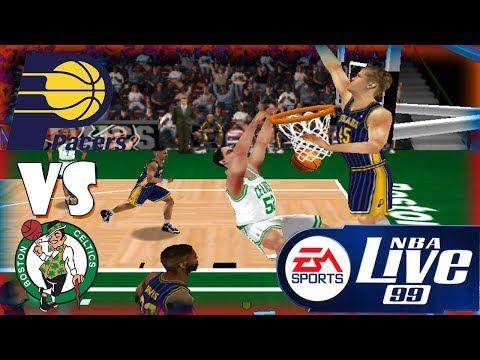 Nba Live 99 Indiana Pacers-Boston Celtics Season