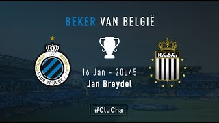 CLUB BRUGGE - CHARLEROI | Matchverslag | 2017-2018